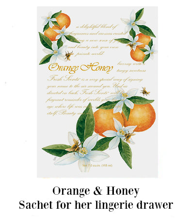 Orange & Honey sachet