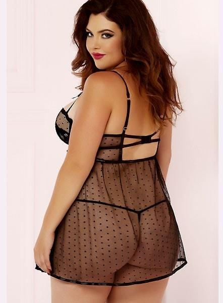Simple Elegance Babydoll Plus Size