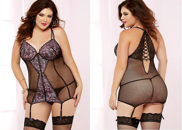 Tricky Business Chemise Plus Size