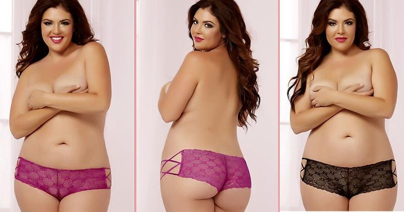 Sweet Buns Boyshort Plus Size