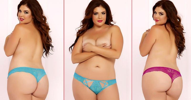 Tender Touch Thong Duo Plus Size