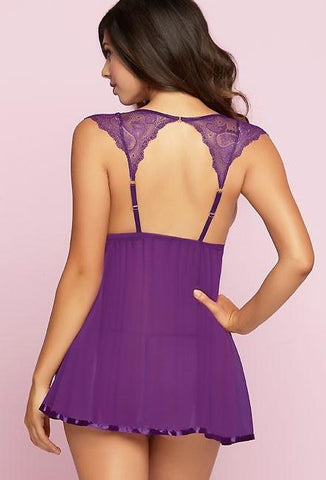 Nice & Easy Purple Babydoll