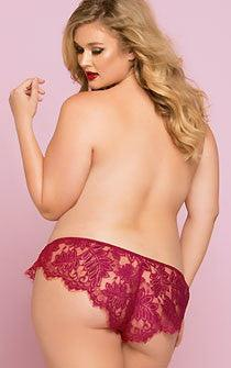 I Dare Ya Lace Boxers 2 Pack Plus Size