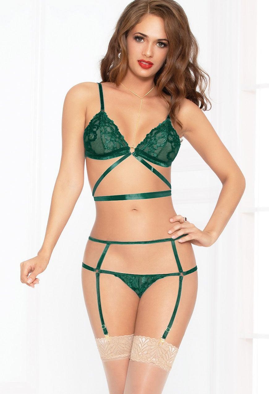 Evergreen Strappy Set
