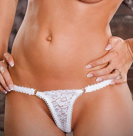 Blushing Bride Micro Thong