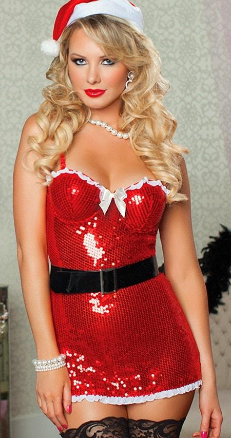 Naughty & Nice Sexy 4pc Babydoll