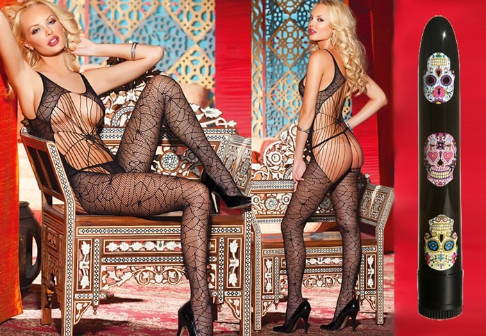 Web of Desire Sexy Body Stocking