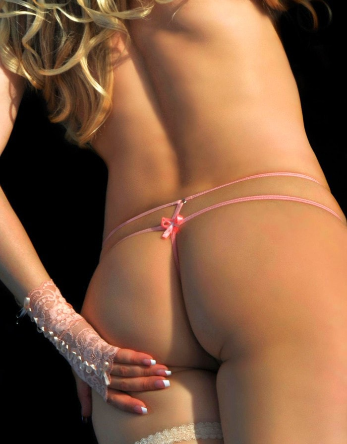 The Pleasure's Mine Mini Micro Thong