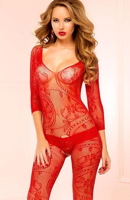 Red Delicious Bodystocking