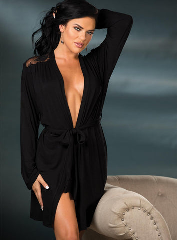 Cozy Nights Draping Robe