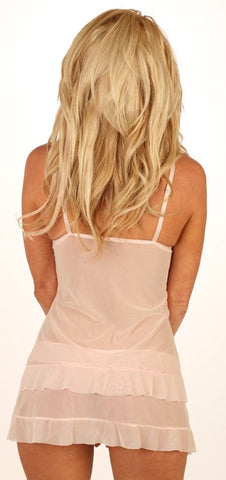 Pink Cloud Babydoll Nightie
