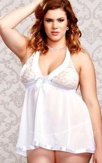 Polar Angel Babydoll Plus Size