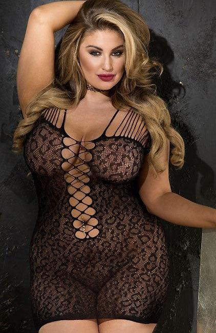 Cat Got Your Tongue Chemise Plus Size