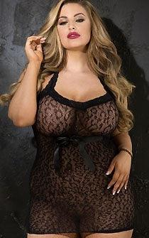 Sexy Proposition Chemise Plus Size