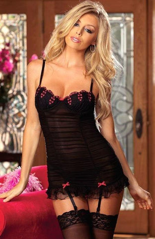 Fluttering Hearts Chemise