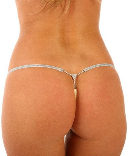 Roses & Diamonds Micro Thong