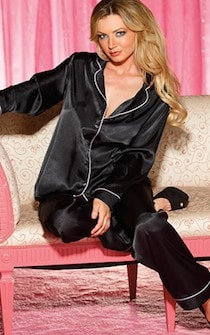 Smooth Operator Satin PJ Set
