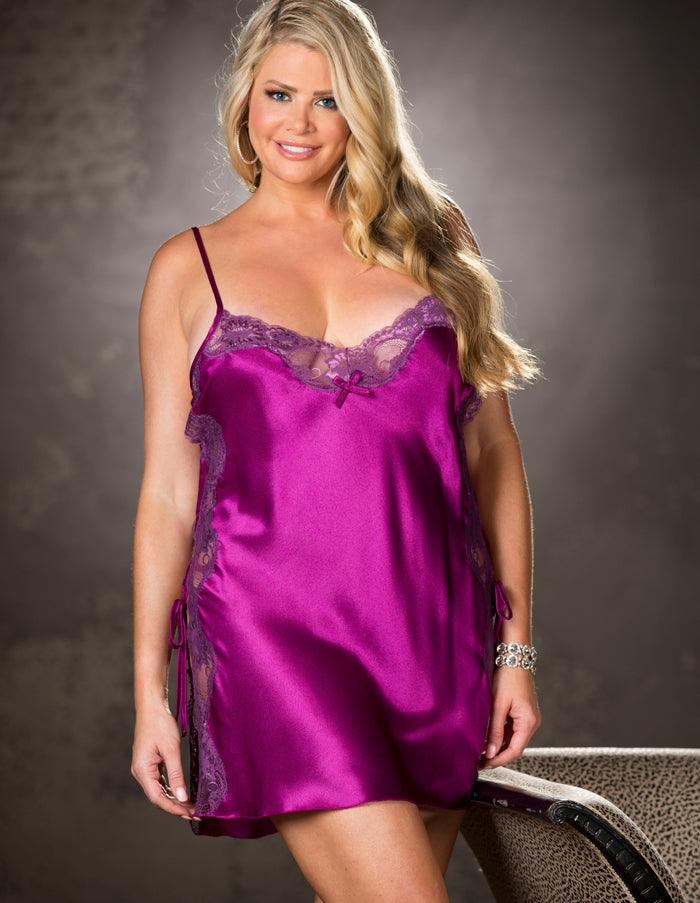 Mulberry Wine Nightie