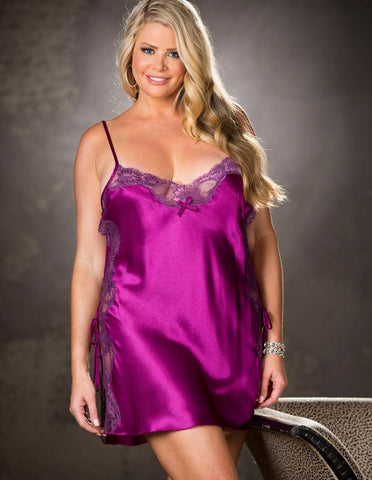 Mulberry Wine Nightie Queen