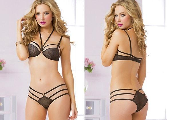 Strap Me Down 2pc Lingerie Set