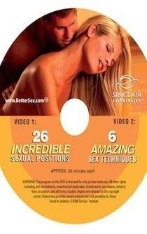 FREE DVD 6 Amazing Sexual Techniques/26 Incredible Positions