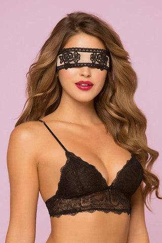 Free $12 Sheer Lace Blindfold