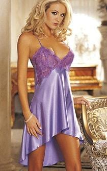 Sultry Satin Nightie