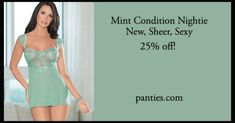 Mint Condition Babydoll Nightie