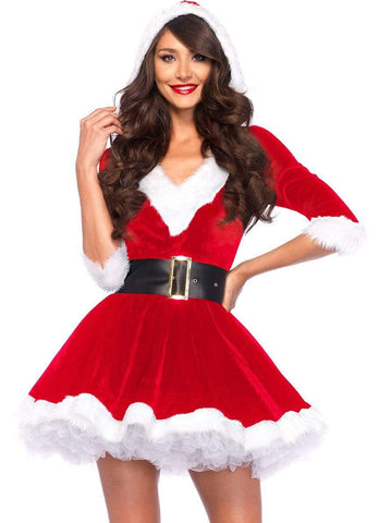 Santa Baby Velvet Holiday Dress
