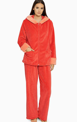 Luxury Imported Plush PJ Set