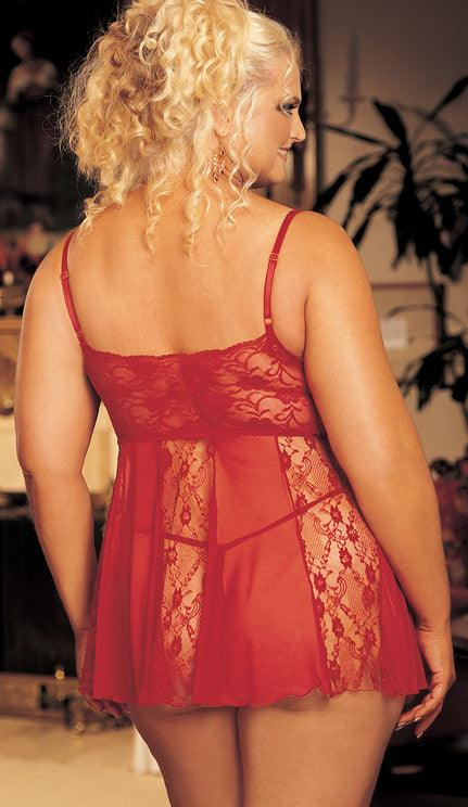 Peek & Seek Babydoll Queen Size