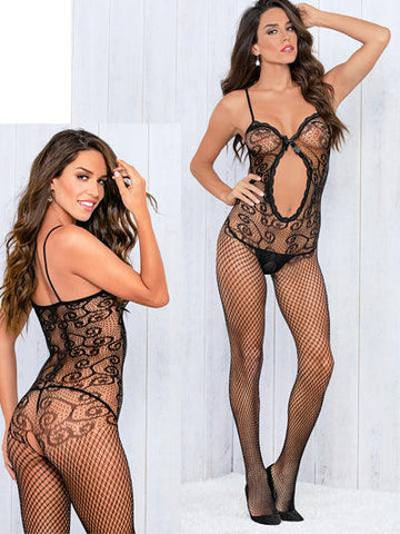The Tattooed Swirl Body Stocking