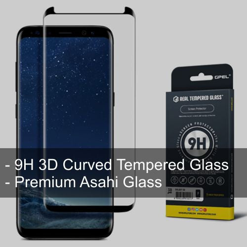 Galaxy S8 Plus 3D HD Full Cover Glass - Starting $30