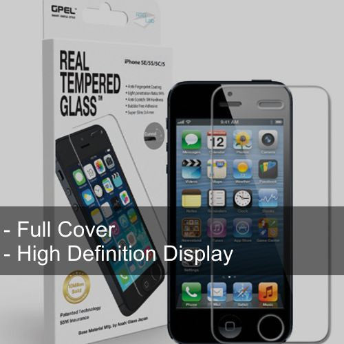 iPhone SE | 5S | 5C | 5 Full Cover Glass - Starting $20