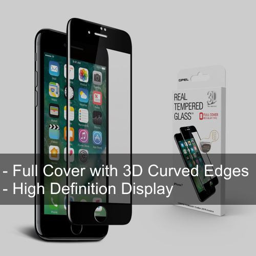 iPhone 7 3D HD Full Cover Glass - Starting $30