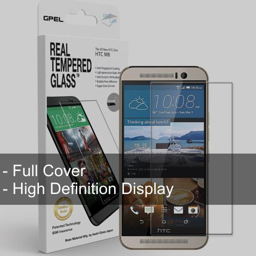 HTC M8 Full Cover Glass - Starting $20