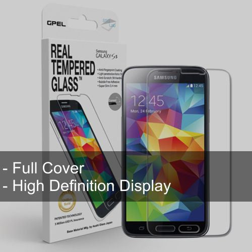 Galaxy S5 Full Cover Glass - Starting $20