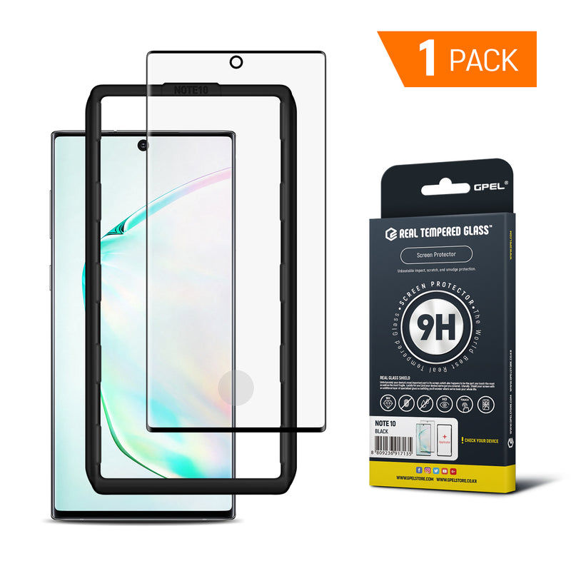 Galaxy Note 10 - Full Coverage Tempered Glass Screen Protector