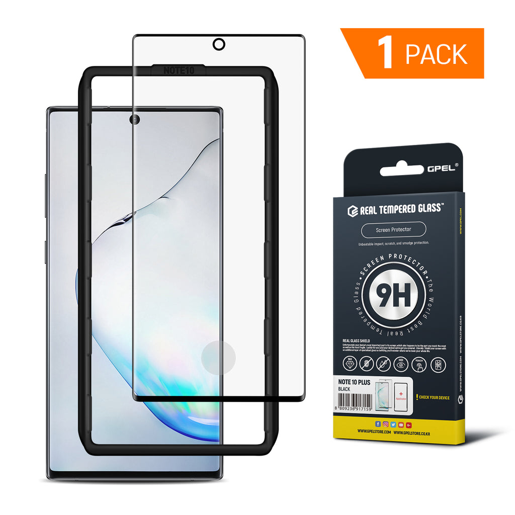 Galaxy Note 10 Plus / 5G - Full Coverage Tempered Glass Screen Protector