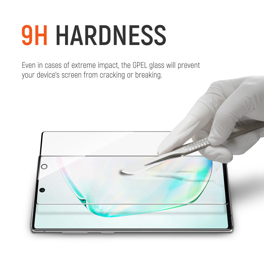Galaxy Note 10 Plus / 5G - Full Coverage Tempered Glass Screen Protector (2-Pack)