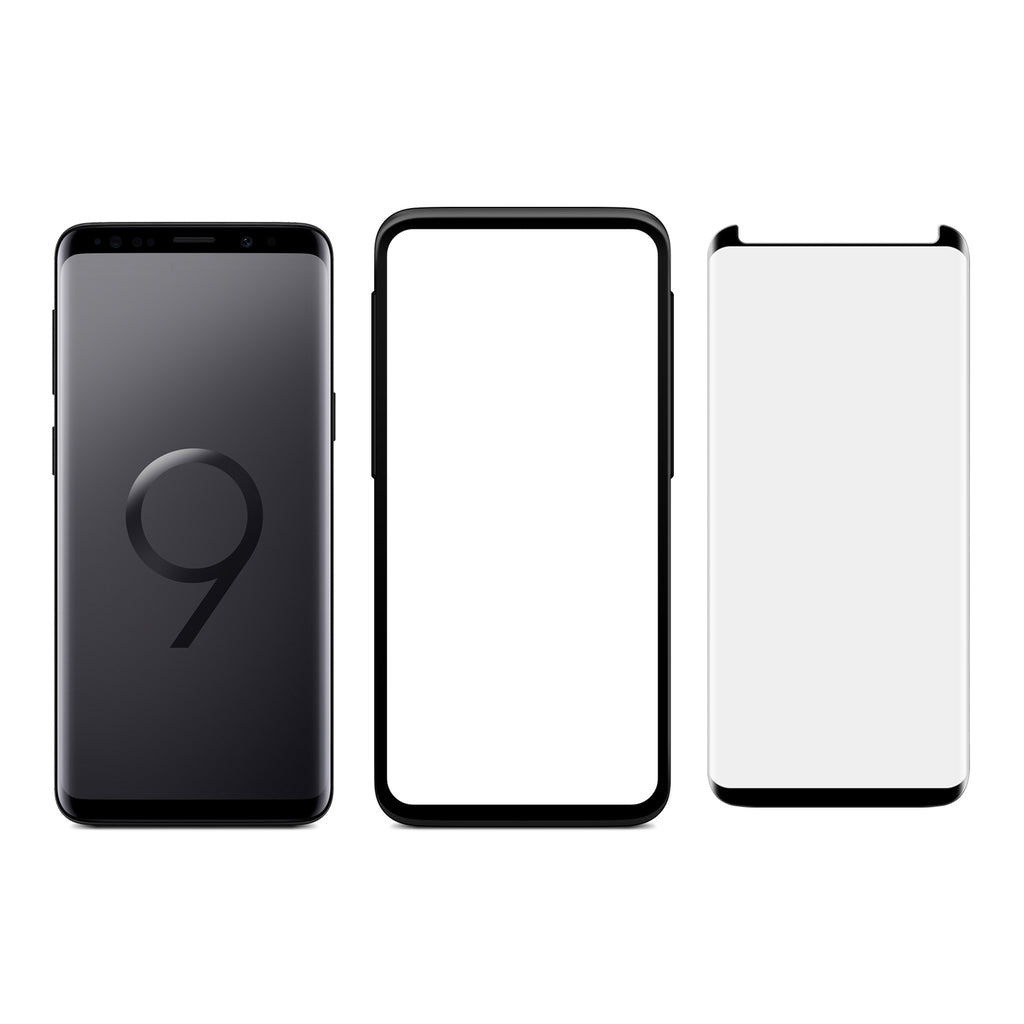 Galaxy S9 Plus - Full Coverage Tempered Glass Screen Protector