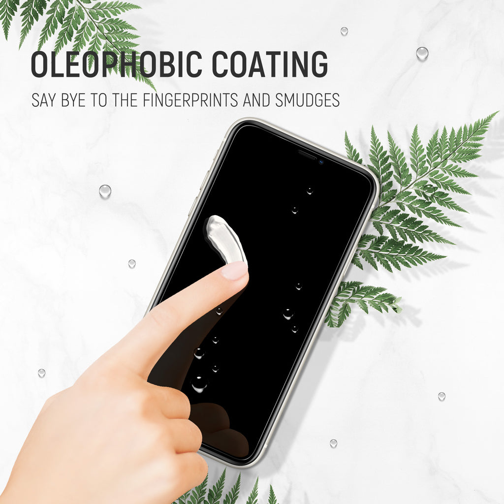 iPhone 11 Pro / iPhone XS Privacy Real Tempered Glass Screen Protector