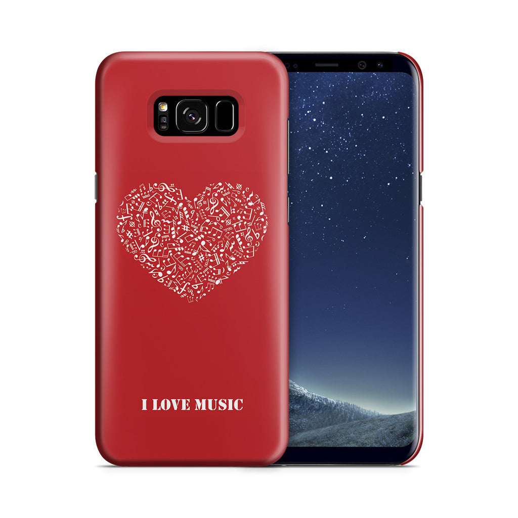 Galaxy S8 Plus Case - Music Is Love