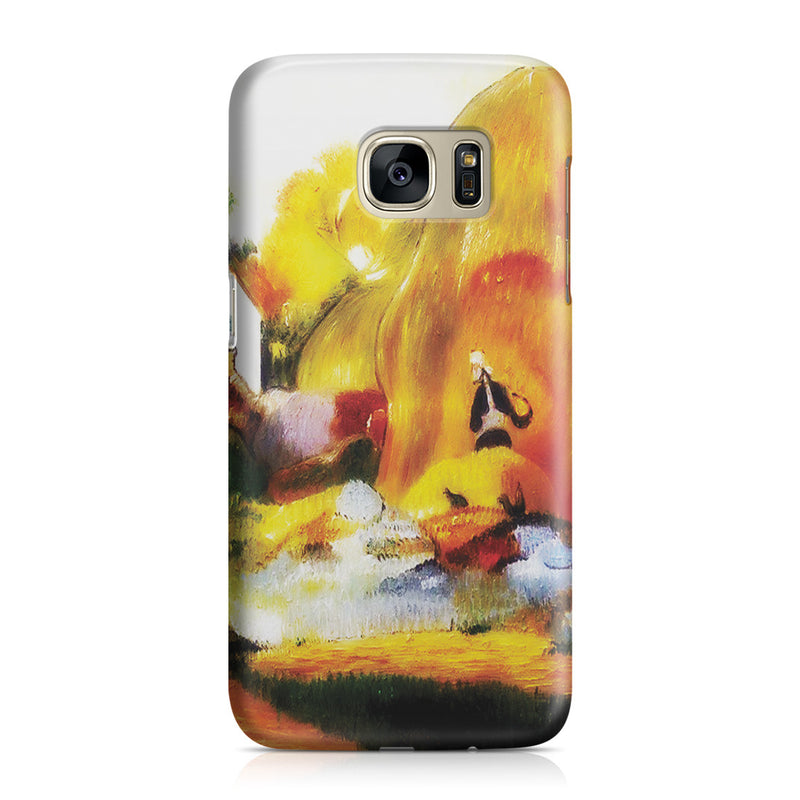 Galaxy S7 Case - Yellow Haystacks (The Golden Harvest) by Paul Gauguin