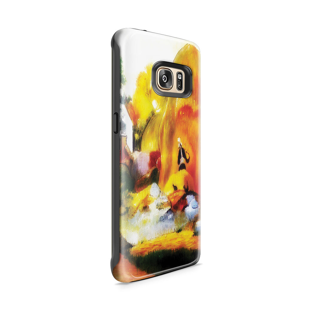Galaxy S7 Edge Adventure Case - Yellow Haystacks (The Golden Harvest) by Paul Gauguin