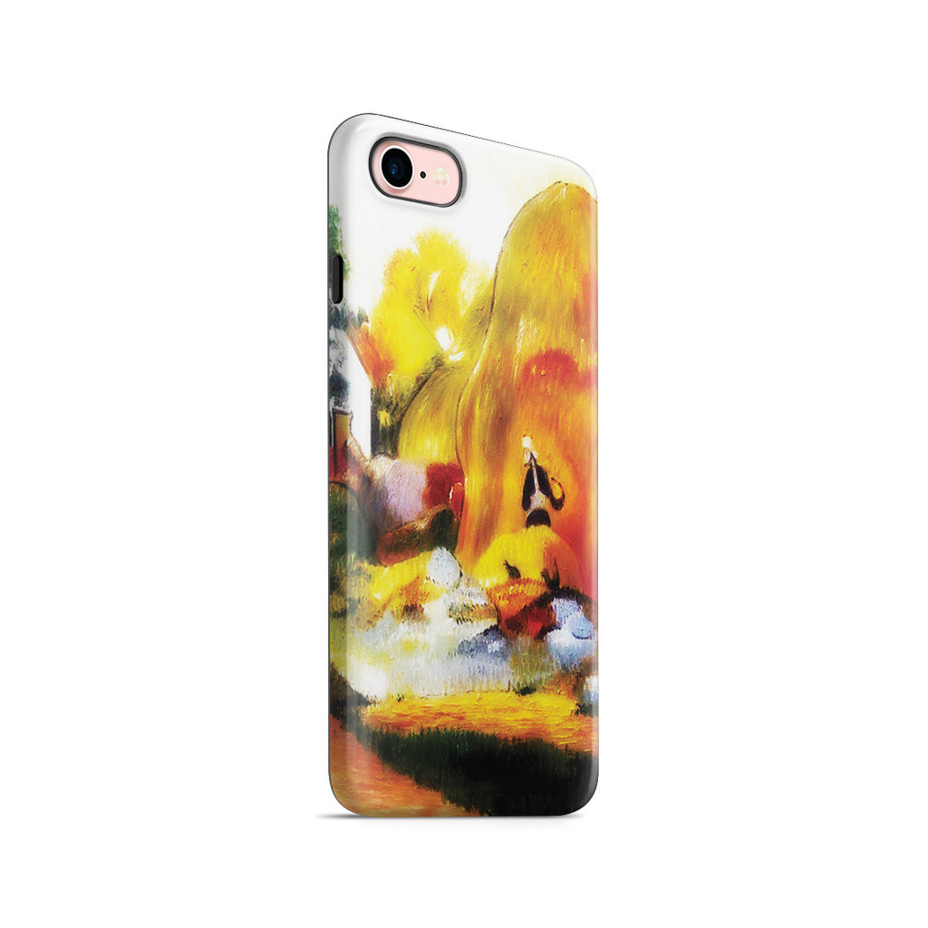 iPhone 7 Adventure Case - Yellow Haystacks (The Golden Harvest) by Paul Gauguin