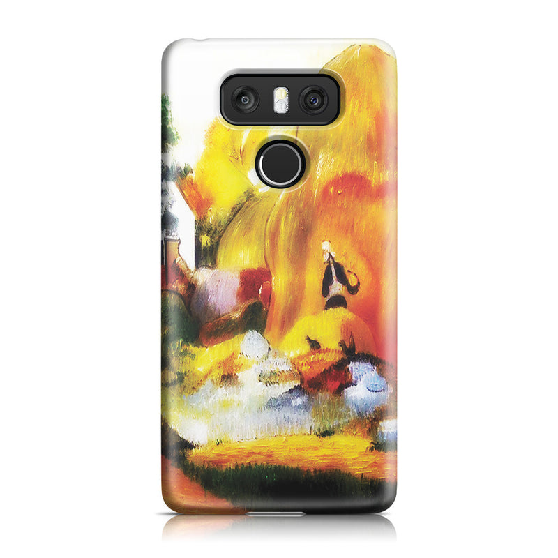 LG G6 Case - Yellow Haystacks (The Golden Harvest) by Paul Gauguin