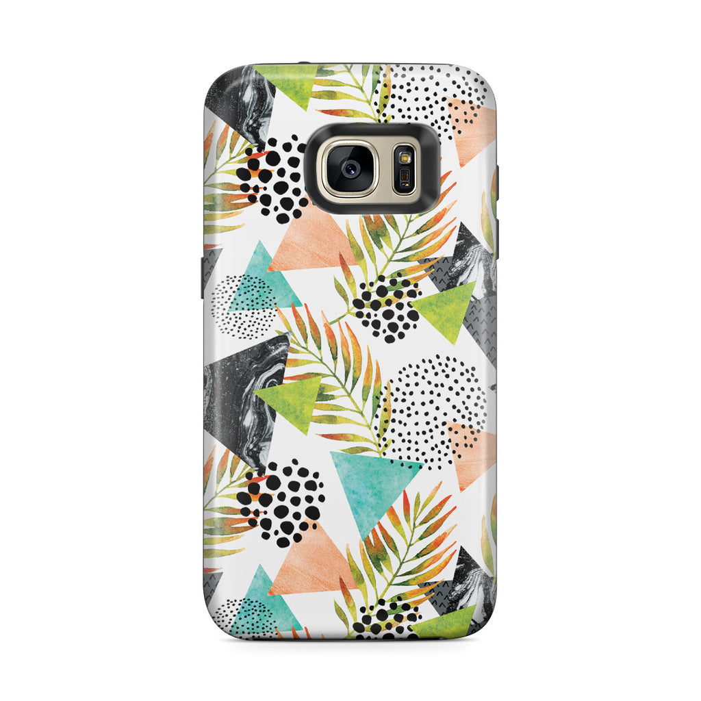 Galaxy S7 Edge Adventure Case - Summer Leaf