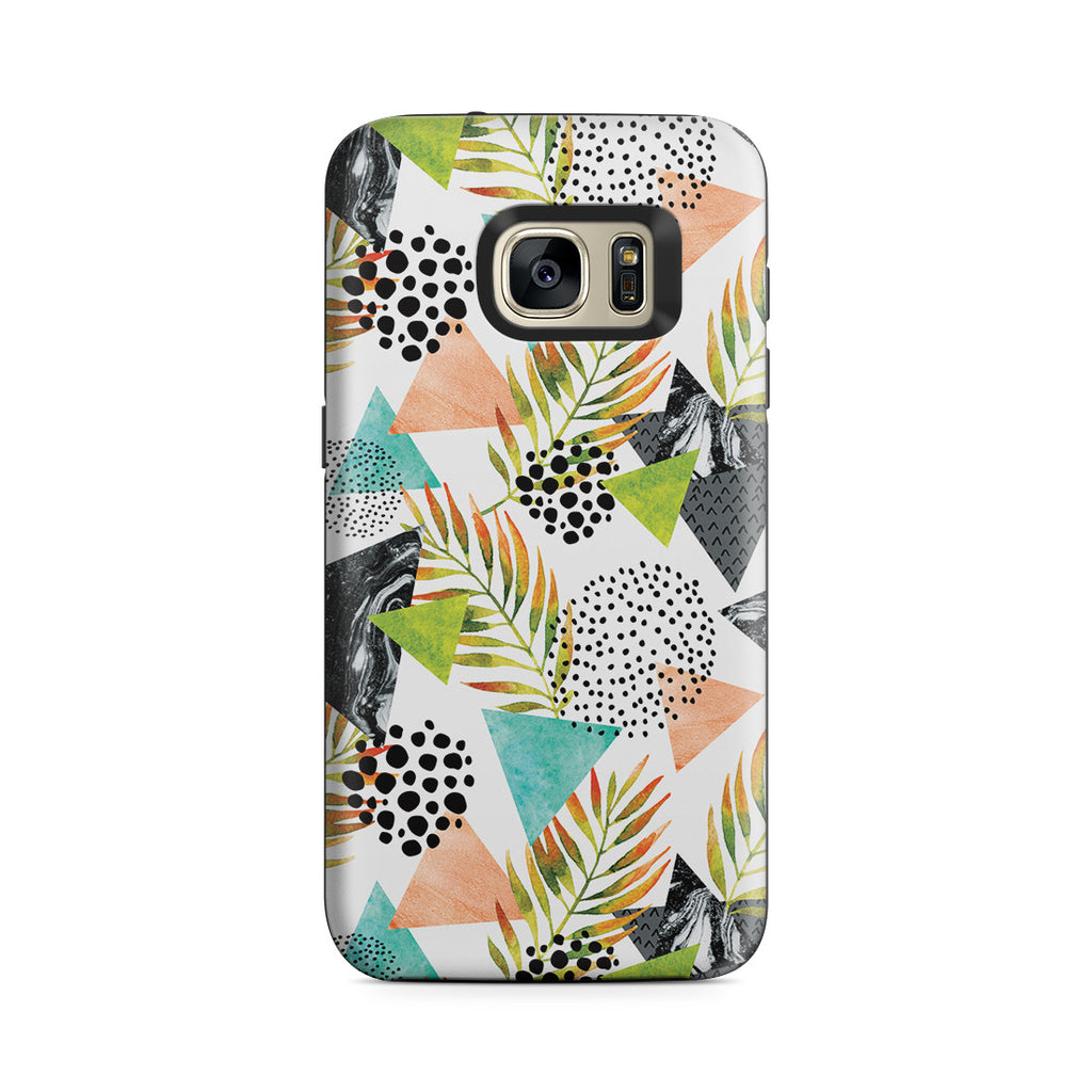 Galaxy S7 Adventure Case - Summer Leaf