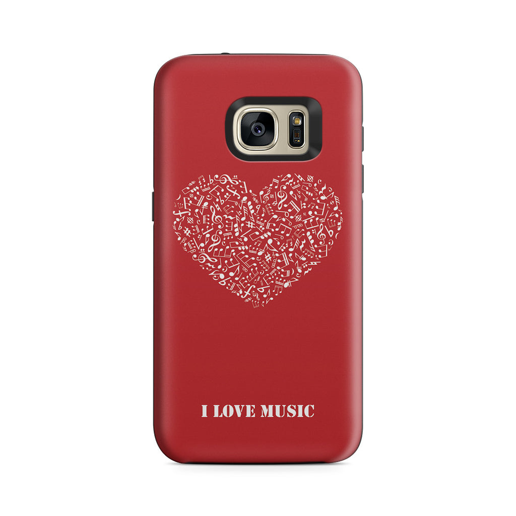 Galaxy S7 Adventure Case - Music Is Love